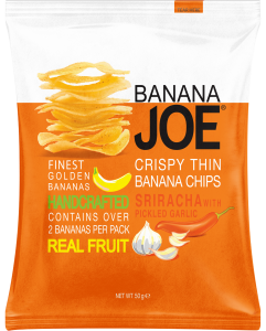 CHIPSY BANANA JOE SRIRACHA 50G PURELLA