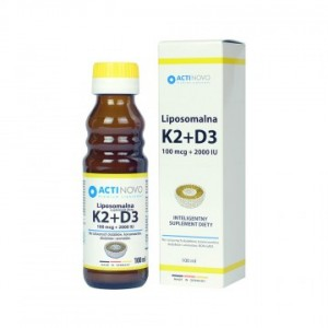 LIPOSOMALNA WITAMINA K2 100+D3 100ML