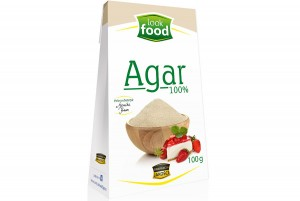 AGAR 100G LOOK FOOD