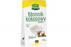 BŁONNIK KOKOSOWY 100G LOOK FOOD