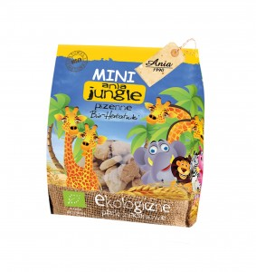 herbatniki  BIO MINI JUNGLE 100g Ania