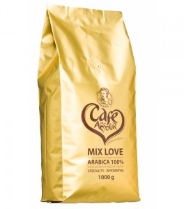 KAWA ZIARNISTA MON AMOUR 1KG CAFE AMOUR