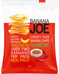 CHIPSY BANANA JOE SŁODKIE CHILLI 50G PURELLA