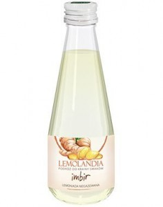 Lemoniada imbir 330ml Lemolandia