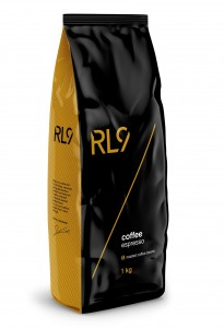 RL9 Kawa COFFEE ESPRESSO ziarnista 1kg RL9 Robert Lewandowski