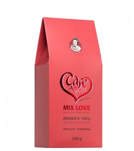 KAWA MIX LOVE ZIARNO      250G CAFE