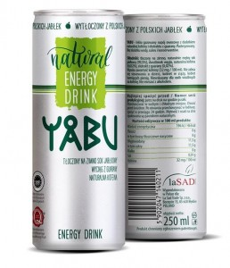 YABU ENERGY DRINK PUSZKA 250ML lasad