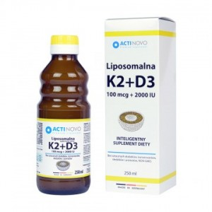LIPOSOMALNA WIT.K2 100+D3 250ML MY VITA
